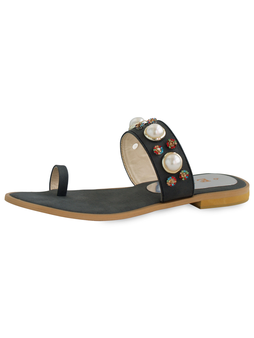 3847f2827a9 LADIES FANCY SLIPPER - EBH - Art of Leather